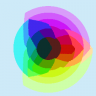 RGB Color Wheel (median cut 32 colors)