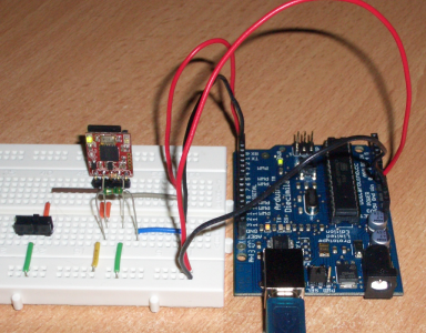 Arduino with 4D System\'s uDRIVE-uSD-G1