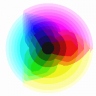 RGB Color Wheel (128 colors)